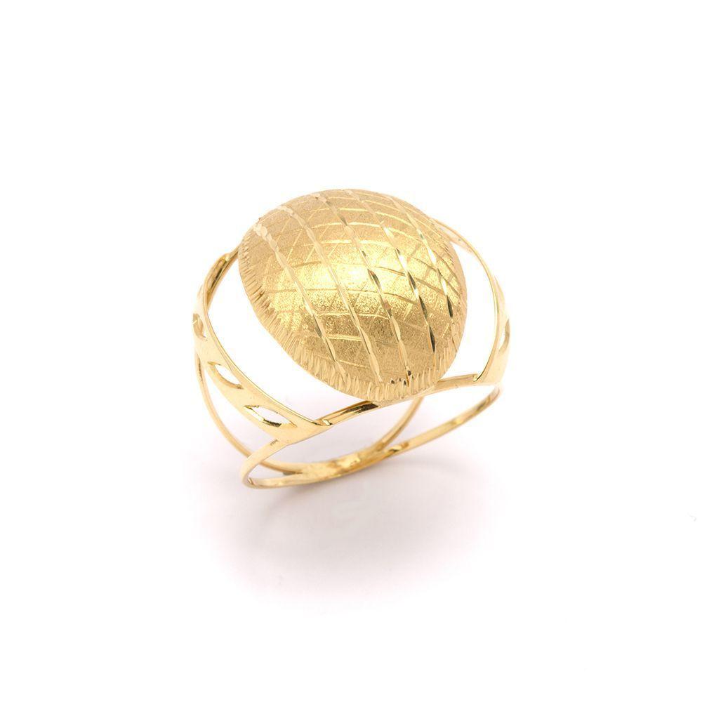 2de855ad7d90f Anel Redondo em Ouro 18 Kilates - 23118 ...
