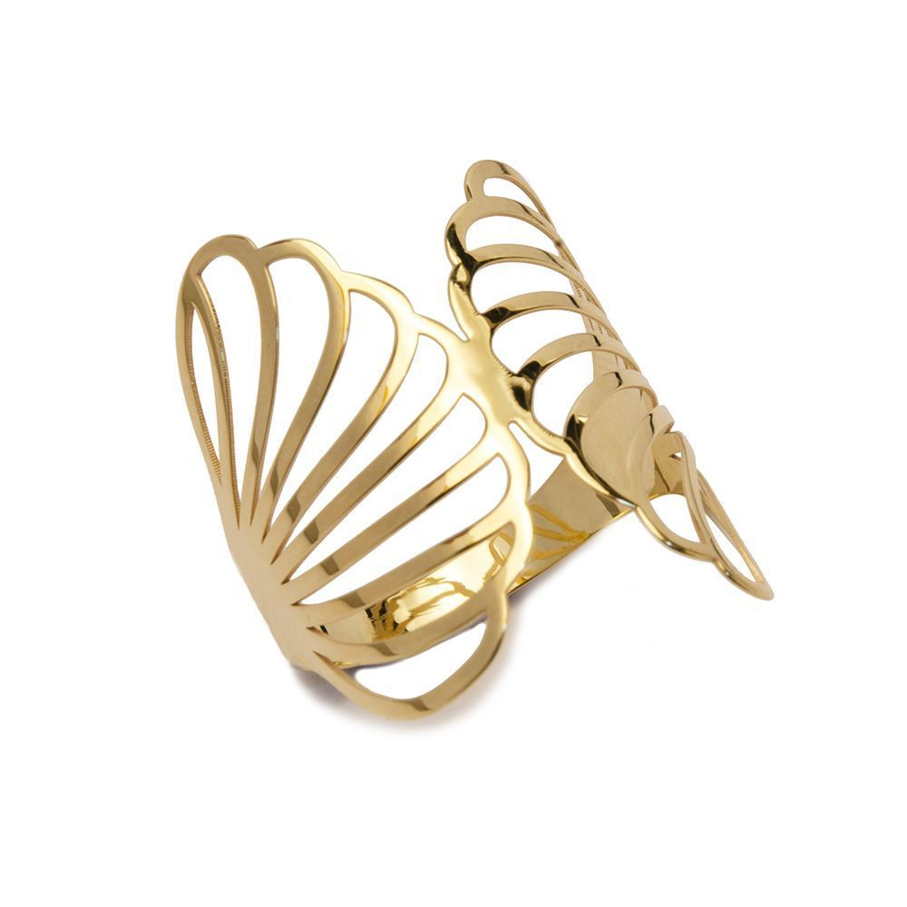 Anel Borboleta em Ouro 18 Kilates - 25028